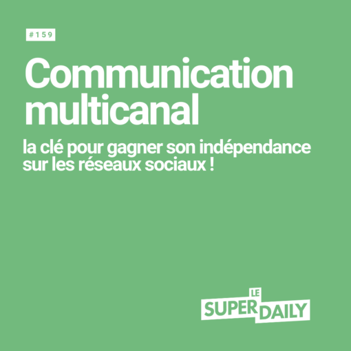 Communication multicanal