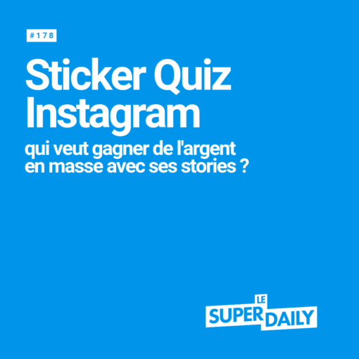 Le sticker quiz d'Instagram
